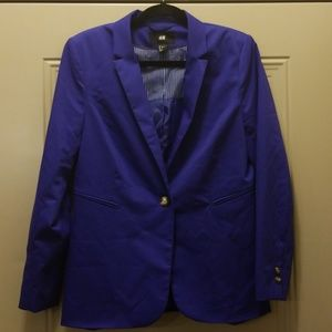 HM fitted blazer jacket